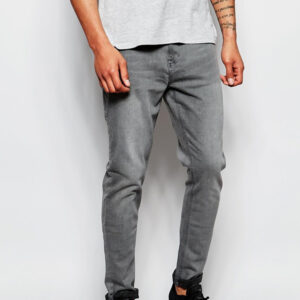 Wholesale Grey Men's Cool Denim Manufacturer
