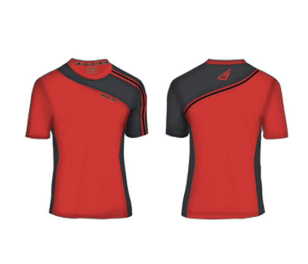 Wholesale Red and Black Sports Tee Manufacturer