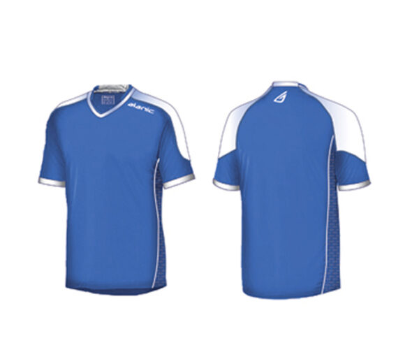 Wholesale Blue and White Sports Shirt Manufacturer
