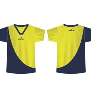 Wholesale Black and Yellow Sports Shirt Manufacturer