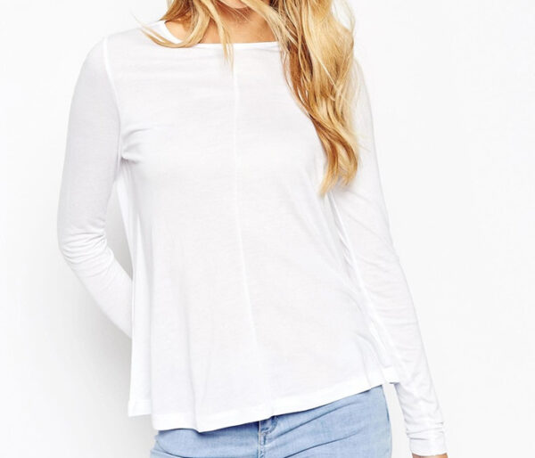 Wholesale Perfect White Womens Top Manufacturer