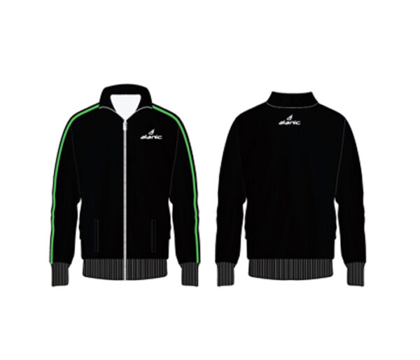 Wholesale Black Full Sleeved Sports Jacket Manufacturer