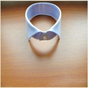 Buttoned Band Collar