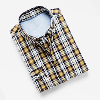 Classic-fit Bright Check Shirt