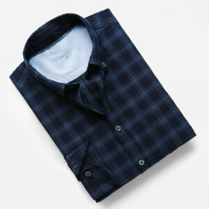 Classic-fit Chest-Pocket Check Shirt