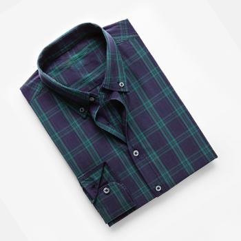 Classic-fit Check Shirt