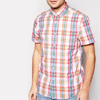 Wholesale Summer Pastel Flannel Check Shirt Manufacturer