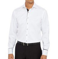 Crisp White Business Shirt Manufacturer