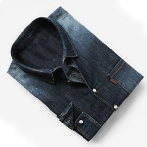 Wholesale Dark Wash Denim Shirts Supplier