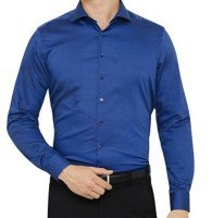 Dark Blue Smart Shirt Supplier