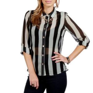 Wholesale Designer Broad Stripe Shirt Manufacturer