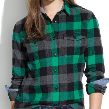 Wholesale High Fashion Check Flannel Shirt Manufacturer