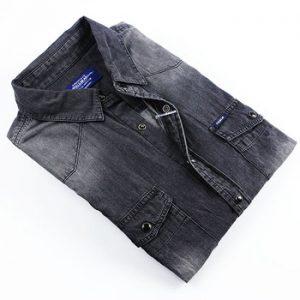 Stone Washed Denim Shirt