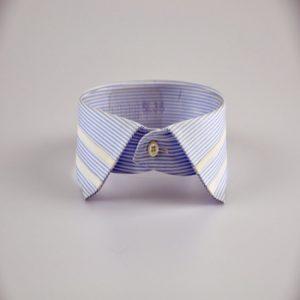Striped Spread Collar