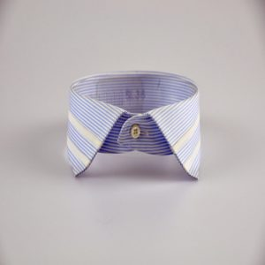 Striped Spread Collar