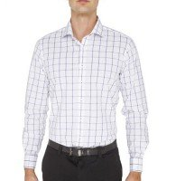 White and Blue Checkered Shirt Supplier