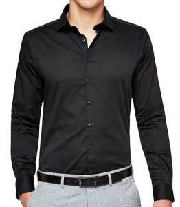 Wholesale Black Cotton Shirt Manufacturer