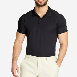 Wholesale Black Golf Shirt Manufacturer
