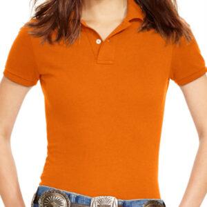Citrus Orange Polo Shirt Manufacturer
