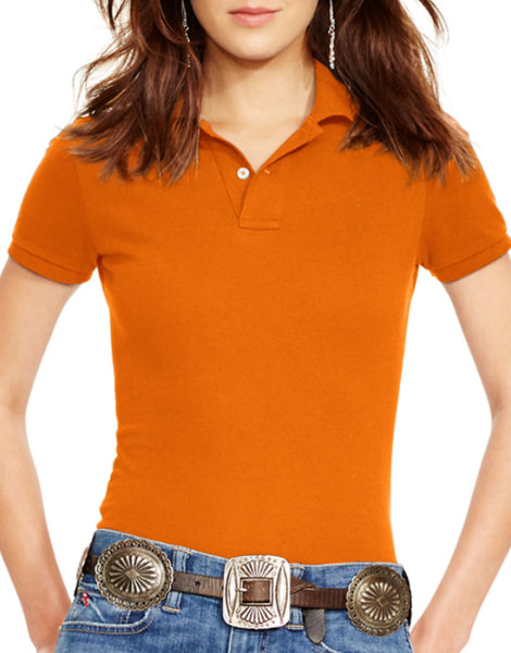 Citrus Orange Polo Shirt Manufacturer