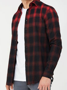 Classic-fit Bright Check Shirt Manufacturer