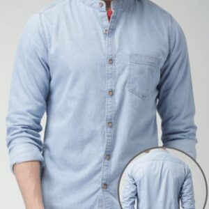 Wholesale Collarless Denim Shirts Manufacturers