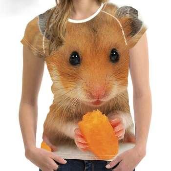 cute mice 3d t-shirt manufacturer
