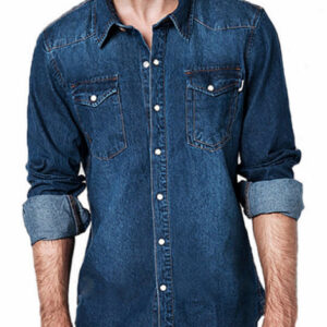 Dark Wash Denim Shirt Manufacturer
