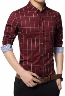 Full Sleeve Slim Fit Casual Shirt Manufacturer