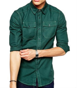 Green Long Sleeve Shirt Manufacturer