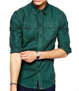 Green Long Sleeve Shirt Manufacturer