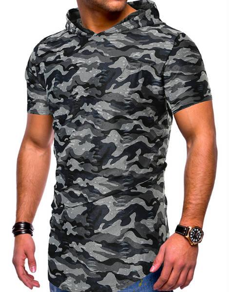 Grey and Black Raglan Shirt Manufacturer