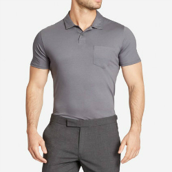 Wholesale Grey Golf Shirt Manufacturer