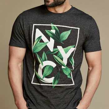 Wholesale Grey Organic T-Shirts Manufacturer