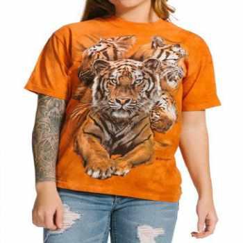 wholesale jigsaw animal print 3d t-shirt manufacturer