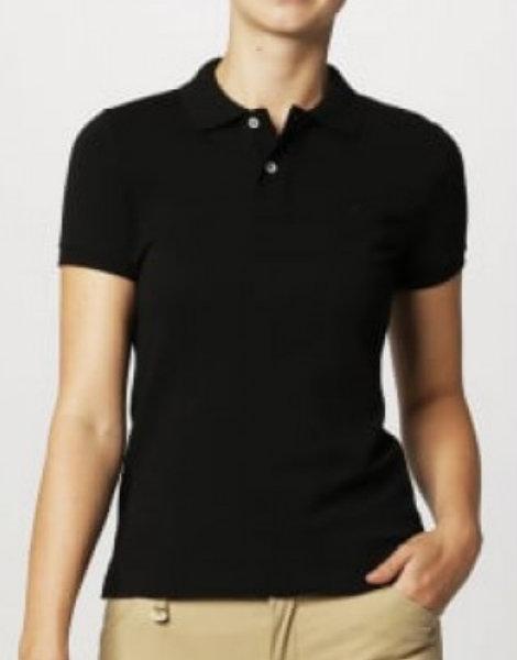 Ladies Black Polo Shirts Manufacturer