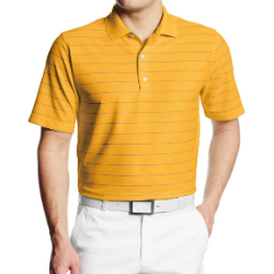 Wholesale Micro Pique Stripe Golf Shirts Manufacturer
