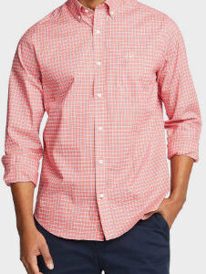 Pink Checked Shirt Manufacturer