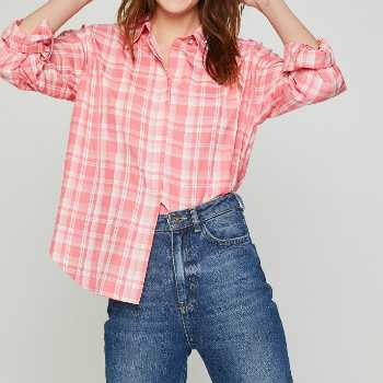wholesale pink striped shirts manufacturer