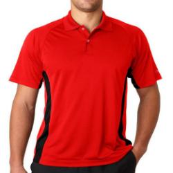 Wholesale Red Golf Shirts Mens Manufacturer