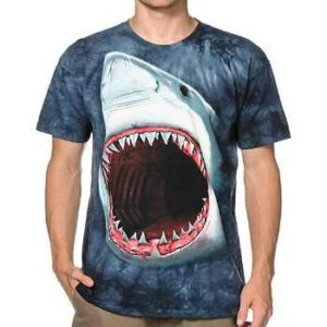 shark bite 3d t-shirt supplier