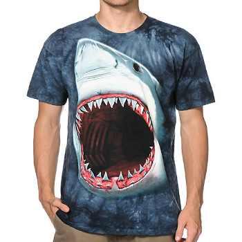 shark bite 3d t-shirt supplier
