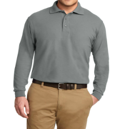 Wholesale Silk Touch Long Sleeve Golf Shirts Manufacturer