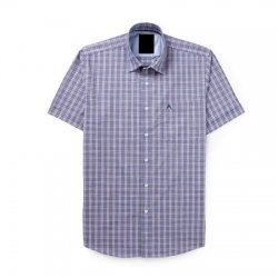wholesale sky blue check shirts manufacturers