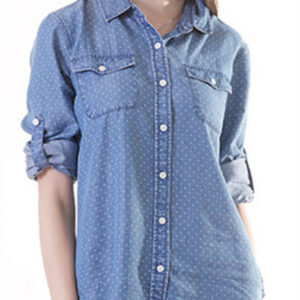 Slim-Fit Polka-Dot Cotton Linen-Blend Shirt Manufacturer