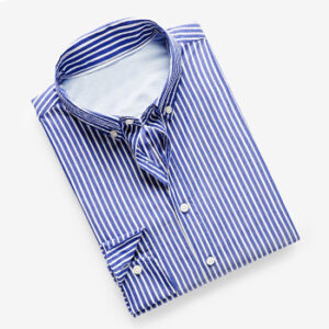 slim fit tailored official stripe shirt wholesale