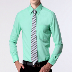 soothing green formal shirts manufacturers