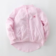 Wholesale Textured Light Pink Shirt for Girls Manufacturer
