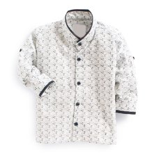 Wholesale White Printed Shirt for Boys Manufacturer