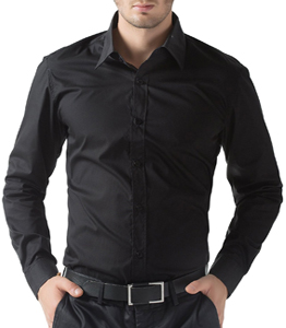 Wholesale Black Long Sleeve Shirt Manufacturer